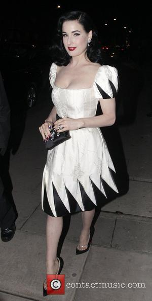 Dita Von Teese and Somerset House