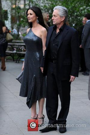 Michael Douglas and Catherine Zeta-Jones 2012 Tribeca Film Festival Vanity Fair party at the State Supreme Courthouse  New York...