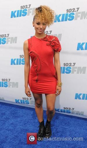 Kat Graham 102.7 KIIS FM's Wango Tango at The Home Depot Center - Arrivals Los Angeles, California - 12.05.12