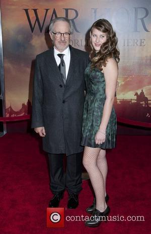 Steven Spielberg, Destry Allen Spielberg  World Premiere of 'War Horse' at Avery Fisher Hall in the Lincoln Center for...