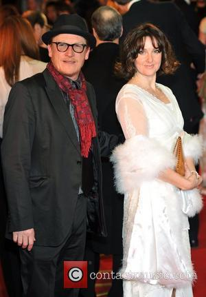 Geoff Bell and guest War Horse - UK film premiere held at the Odeon Leicester Square - Arrivals. London, England...
