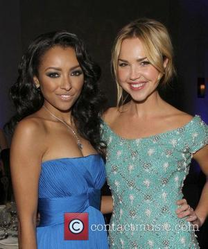 Kat Graham and Arielle Kebbel The Ripple Effect Benefiting The Water Project Charity held at Sunset Luxe Hotel - Inside...