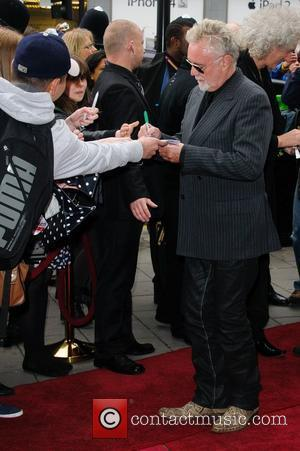 Roger Taylor 'We Will Rock You' 10th year anniversary performance - arrivals London, England - 14.05.12