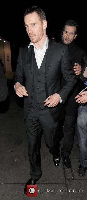 Michael Fassbender arriving at Harvey Weinstein's Orange British Academy Film Awards (BAFTAs) afterparty. London, England - 12.02.12