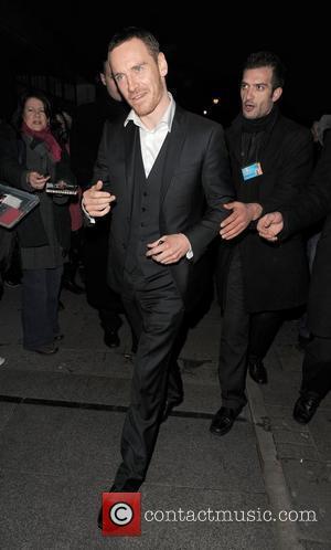 Michael Fassbender leaving Harvey Weinstein's Orange British Academy Film Awards (BAFTAs) afterparty London, England - 12.02.12