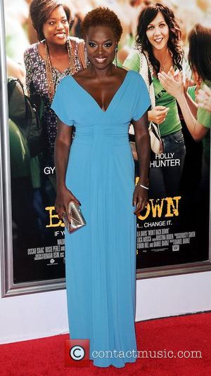 Viola Davis Not Phased By Protest At Won't Back Down Film Premiere