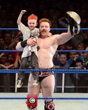 WWE Superstar Sheamus retains his World Heavyweight title in an epic match against Daniel Bryan in front of the Dubliner's...