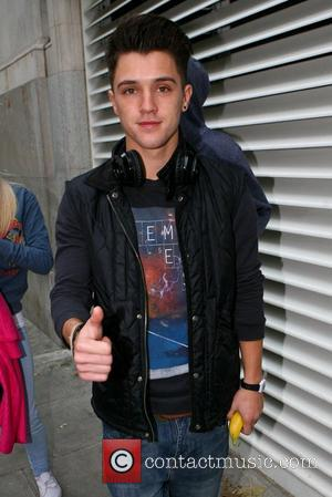 Jamie Hamblett aka JJ of Union J X Factor contestants outside their London hotel London, England - 11.10.12