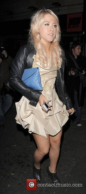 X Factor contestant Amelia Lily. The X Factor wrap party, held at DSTRKT club. London, England - 14.12.11