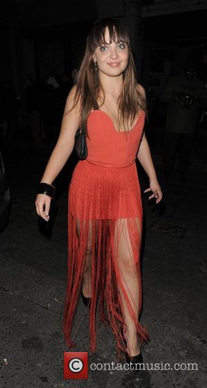 X Factor contestant Sophie Habibis. The X Factor wrap party, held at DSTRKT club. London, England - 14.12.11