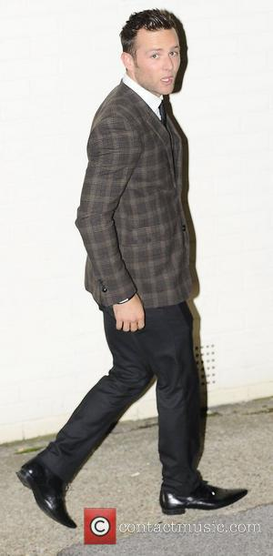 Harry Judd,  at the X Factor held at Fountain Studios. London, England - 14.10.12