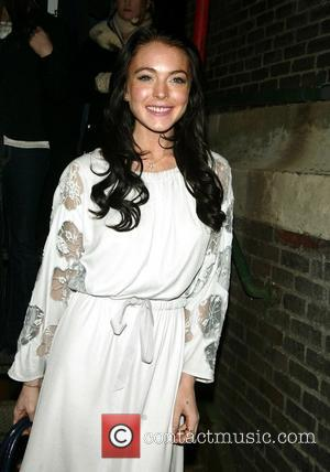 Lindsay Lohan - Marc Jacobs Fall 2006 Collection Fashion Show held at the 69th Regiment Armory-Departures. - New York, NY,...