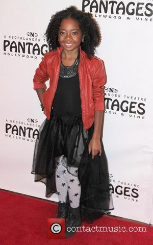 Skai Jackson - Peter Pan - Opening Night Performance in Hollywood Hollywood California United States Tuesday 15th January 2013
