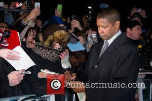 Denzel Washington - Flight Film Premiere London England United Kingdom Thursday 17th January 2013