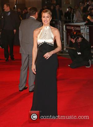 Robin Wright - 'House of Cards' TV premiere held at Odeon London England Thursday 17th January 2013