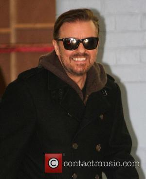 Ricky Gervais - Celebs at ITV