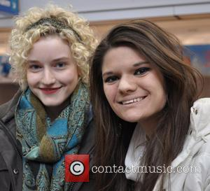 Julia Garner and Fan
