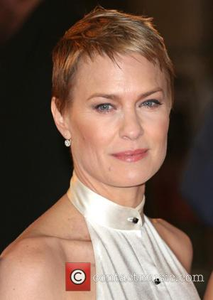 Robin Wright - 'House of Cards' TV premiere held at Odeon - London, United Kingdom - Thursday 17th January 2013