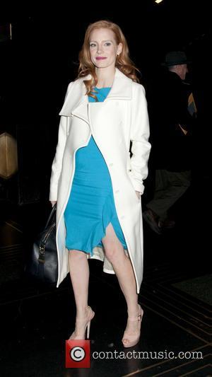 Jessica Chastain - Jessica Chastain exits the NBC Studios