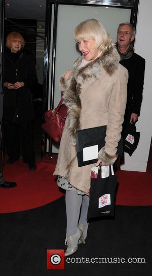 Helen Mirren - Dame Helen Mirren seen leaving BFI Southbank