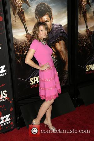 Lucy Lawless - Premiere of 'Spartacus: War of the Damned' Los Angeles California USA Tuesday 22nd January 2013