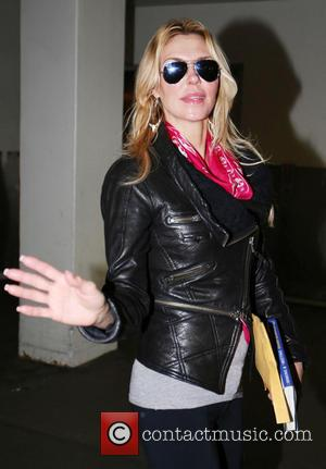 Brandi Glanville - Celebrities arriving at LAX airport