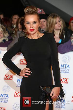 Kierston Wareing - National Television Awards 2013 London United Kingdom Wednesday 23rd January 2013