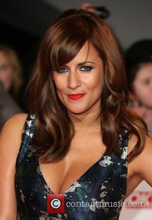 Caroline Flack - National Television Awards- Arrivals London United Kingdom Wednesday 23rd January 2013