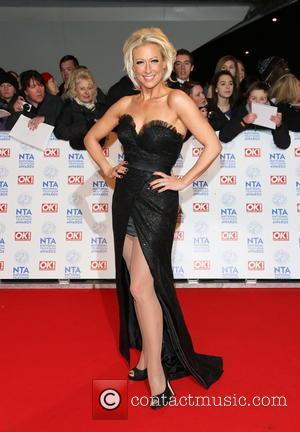 Faye Tozer - National Television Awards- Arrivals London United Kingdom Wednesday 23rd January 2013