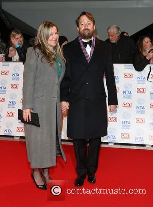 David Mitchell and Victoria Coren - National Television Awards 2013 London United Kingdom Wednesday 23rd January 2013