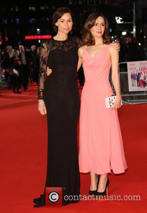 Minnie Driver and Rose Byrne - I Give It A Year Premiere London United Kingdom Thursday 24th January 2013