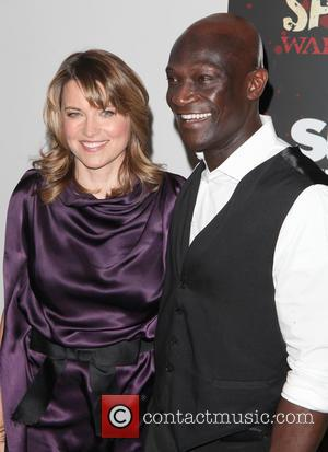Lucy Lawless and Peter Mensah - Spartacus: War Of The Damned Premiere New York City NY USA Thursday 24th January...