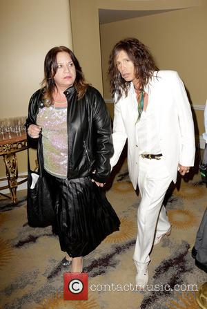 Steven Tyler and guest - 'Raise Your Voice' Benefit at Beverly Hills Hotel Beverly Hills California United States Thursday 24th...