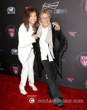Steven Tyler and Roger Daltrey - 'Raise Your Voice' Benefit at Beverly Hills Hotel Beverly Hills California United States Thursday...