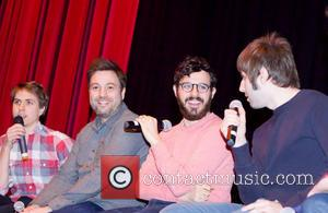 Joe Thomas, Simon Bird and James Buckley - Q&A event with the 'The Inbetweeners' London United Kingdom Friday 25th January...