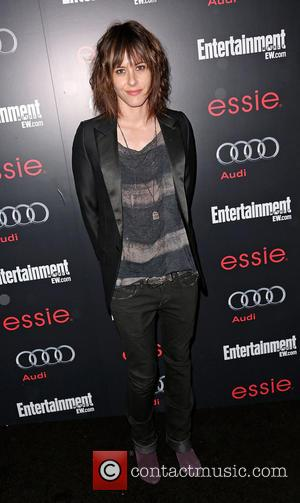 Katherine Moennig - Entertainment Weekly Screen Actors Guild (SAG) Party at Chateau Marmont - Arrivals Hollywood California United States Saturday...