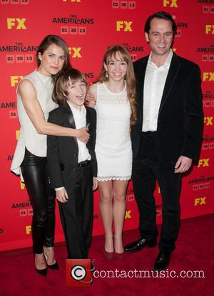 Keri Russell, Holly Taylor, Keidrich Sellati and Matthew Rhys - 'The Americans' screening New York United States Saturday 26th January...