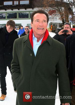 Arnold Schwarzenegger Feels His Age On Movie Set