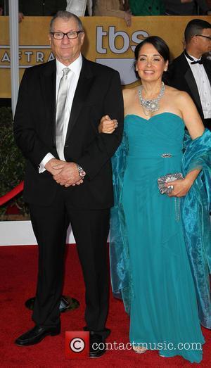 Ed O'Neill and Catherine Rusoff - SAG Awards Arrivals Los Angeles California United States Sunday 27th January 2013