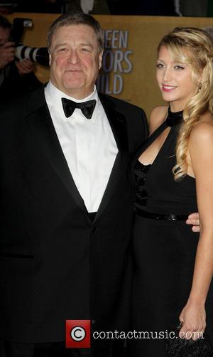 John Goodman and Guest - SAG Awards Arrivals Los Angeles California United States Sunday 27th January 2013