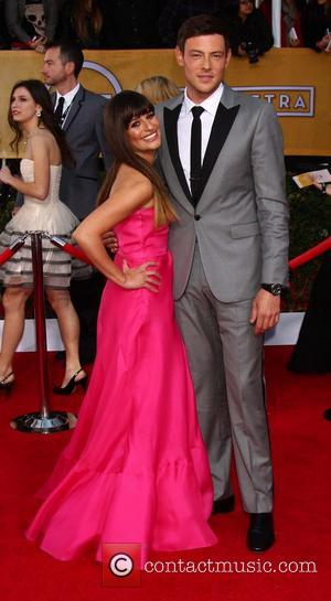 Lea Michele and Cory Monteith - Screen Actors Guild Awards Los Angeles California United States Sunday 27th January 2013