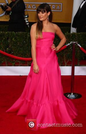 Lea Michele - Screen Actors Guild Awards Los Angeles California United States Sunday 27th January 2013