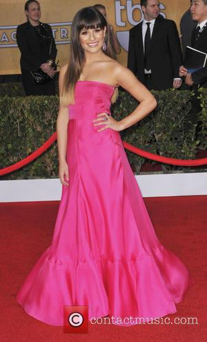 Lea Michele - 19th Annual Screen Actors Guild (SAG) Awards Los Angeles California United States Sunday 27th January 2013
