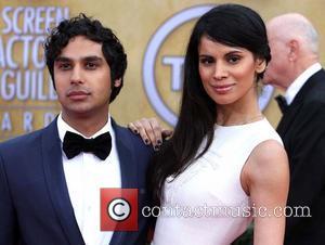 Neha Kapur and Kunal Nayyar - 19th Annual Screen Actors Guild (SAG) Awards Los Angeles California United States Sunday 27th...
