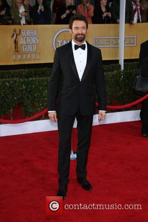 Hugh Jackman - 19th Annual Screen Actors Guild (SAG) Awards - Arrivals Los Angeles United States Sunday 27th January 2013