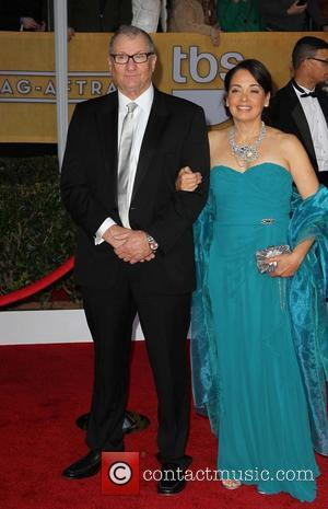 Ed O'Neill and Catherine Rusoff - 19th Annual Screen Actors Guild (SAG) Awards - Arrivals Los Angeles California USA Sunday...