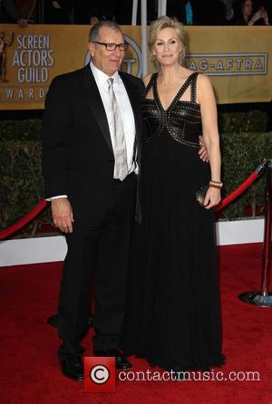 Ed O'Neill and Jane Lynch - 19th Annual Screen Actors Guild (SAG) Awards - Arrivals Los Angeles California USA Sunday...