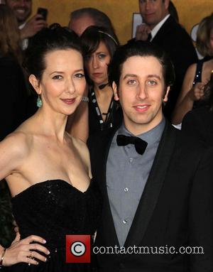 Simon Helberg and Jocelyn Towne - 19th Annual Screen Actors Guild (SAG) Awards - Arrivals Los Angeles California USA Sunday...