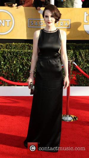 Michelle Dockery - SAG Awards Arrivals Los Angeles California United States Sunday 27th January 2013