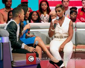 Mary J Blige and Bow Wow - Mary J Blige On 106 & Park TV Show New York City USA...